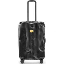 Walizka Stripe średnia Super Black. Czarne walizki Crash Baggage, duże. Za 1225,00 zł.