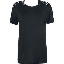 T-shirty damskie: Spin Doctor Nisha Top Koszulka damska czarny