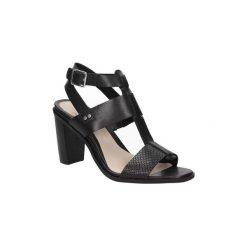 Sandały Clarks  SANDAŁY  IMAGE CRUSH 26115473. Czarne sandały trekkingowe damskie Clarks. Za 239,99 zł.