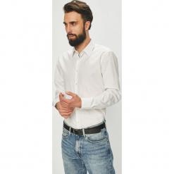 Joop! - Koszula. Szare koszule męskie na spinki marki S.Oliver, l, z bawełny, z włoskim kołnierzykiem, z długim rękawem. Za 399,90 zł.