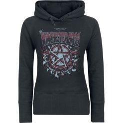 Supernatural Winchester Bros Bluza z kapturem damska czarny. Czarne bluzy z kapturem damskie Supernatural, m, z nadrukiem. Za 144,90 zł.