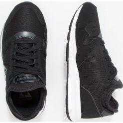 Le coq sportif OMEGA X  Tenisówki i Trampki black. Czarne tenisówki męskie le coq sportif, z materiału. W wyprzedaży za 215,20 zł.