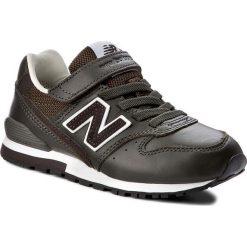 Trampki chłopięce: Sneakersy NEW BALANCE – KV996OVY Zielony