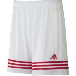 Spodenki i szorty męskie: Adidas Spodenki piłkarskie Entrada 14 biało-czerwone r. XL (F50636)