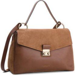 Torebka HISPANITAS - BI87360  Cognac. Brązowe torebki klasyczne damskie marki ARTENGO, z materiału. W wyprzedaży za 609,00 zł.