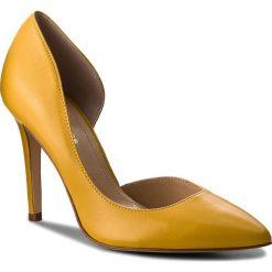 Szpilki: Szpilki SOLO FEMME – 34278-A7-G17/000-04-00 Żółty