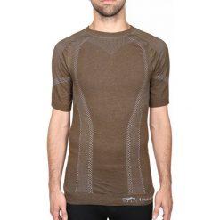 Koszulki sportowe męskie: Insecta Ochronna koszulka z krótkim rękawem brązowa r. XXL