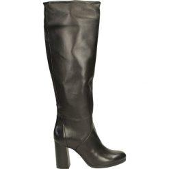 Kozaki ocieplane - 70002300 NERO. Szare buty zimowe damskie Venezia, ze skóry. Za 279,00 zł.