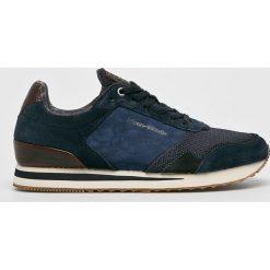 Marc O'Polo - Buty. Szare buty skate męskie Marc O'Polo, z materiału, na sznurówki. W wyprzedaży za 379,90 zł.