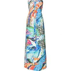 Długie sukienki: Długa sukienka bonprix niebieski