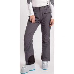 Bryczesy damskie: Spodnie narciarskie damskie SPDN270z - średni szary