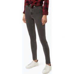 Calvin Klein Jeans - Jeansy damskie – CKJ 010, szary. Szare spodnie z wysokim stanem Calvin Klein Jeans, z jeansu. Za 449,95 zł.