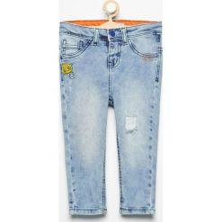 Odzież niemowlęca: Spodnie jeansowe carrot - Niebieski
