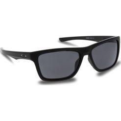 Okulary przeciwsłoneczne OAKLEY - Holston OO9334-0858 Matte Black/Prizm Grey. Czarne okulary przeciwsłoneczne męskie aviatory Oakley, z tworzywa sztucznego. W wyprzedaży za 449,00 zł.