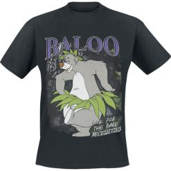 T-shirty męskie: The Jungle Book Baloo T-Shirt czarny