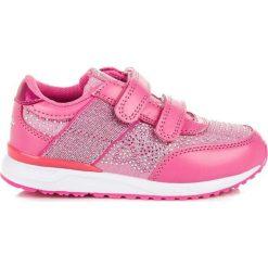 Buciki niemowlęce: American Club Buty dziecięce na rzepy różowe r. 30 (75573)