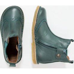 Bisgaard Botki petrol. Zielone buty zimowe damskie Bisgaard, z materiału. W wyprzedaży za 303,20 zł.