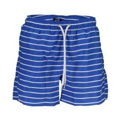 Szorty kąpielowe w kolorze niebieskim. Niebieskie kąpielówki męskie marki GANT. W wyprzedaży za 179,95 zł.
