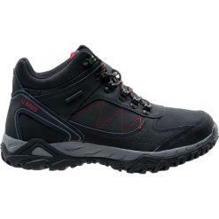 Buty trekkingowe męskie: ELBRUS Buty męskie Lasano Mid WP Black / Grey / Red r. 43