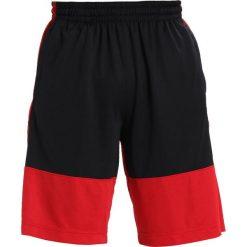 Bermudy męskie: Jordan RISE SOLID SHORT Krótkie spodenki sportowe gym red/black/black