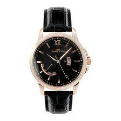 """Zegarki męskie: Zegarek """"LS15H5"""" w kolorze czarno-różowozłotym"""