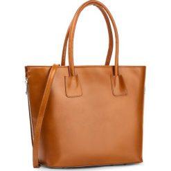 Torebka CREOLE - RBI10141  Koniak. Brązowe torebki klasyczne damskie Creole, ze skóry. W wyprzedaży za 309,00 zł.