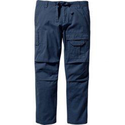 Bojówki męskie: Spodnie bojówki Regular Fit Straight bonprix ciemnoniebieski