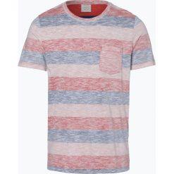 Jack & Jones - T-shirt męski – Jorstanly, czerwony. Czarne t-shirty męskie marki Jack & Jones, l, z bawełny, z klasycznym kołnierzykiem, z długim rękawem. Za 39,95 zł.