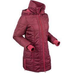 Płaszcz termoaktywny pikowany bonprix czerwony klonowy. Czerwone płaszcze damskie pastelowe bonprix, s. Za 269,99 zł.