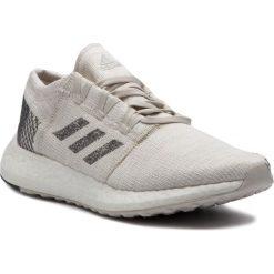 Buty adidas - PureBoost Go B37802 Nondye/Gresix/Rawwht. Czarne buty do biegania damskie marki Adidas, z kauczuku. Za 499,00 zł.