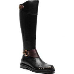 Oficerki FABI - FD5816B Nero. Czarne buty zimowe damskie Fabi, ze skóry, na obcasie. Za 2799,00 zł.