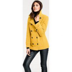 Odzież damska: Kurtka w kolorze żółtym