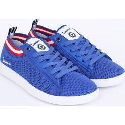 Vespa - Tenisówki. Niebieskie tenisówki damskie marki Vespa, z gumy. W wyprzedaży za 219,90 zł.