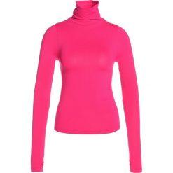 Free People BREEZE TURTLENECK Bluzka z długim rękawem pink. Czerwone topy sportowe damskie Free People, l, z elastanu, sportowe, z długim rękawem. W wyprzedaży za 159,20 zł.