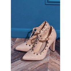 Buty ślubne damskie: Różowe Czółenka Bonny Cherish