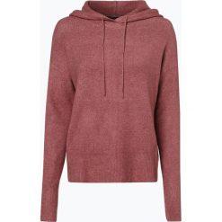 Review - Sweter damski, różowy. Szare swetry klasyczne damskie marki Review, l, z tkaniny, z okrągłym kołnierzem. Za 129,95 zł.