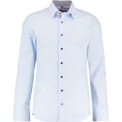 Koszule męskie na spinki: Eterna SLIM FIT UBD AUSPUTZ Koszula biznesowa hellblau