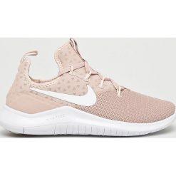 Nike - Buty Wmns Nike Free Tr 8. Szare buty sportowe damskie Nike, z materiału. W wyprzedaży za 349,90 zł.