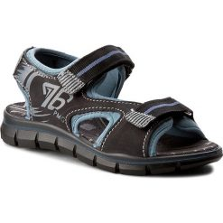 Sandały PRIMIGI - 7651000 S Nero/C. Czarne sandały męskie skórzane Primigi. W wyprzedaży za 159,00 zł.