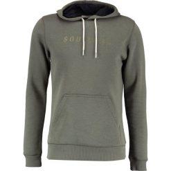 Soulland GUY Bluza z kapturem dark green. Zielone bluzy męskie rozpinane marki Soulland, l, z bawełny, z kapturem. W wyprzedaży za 395,85 zł.