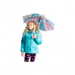 Kurtka dziewczęca zimowa z kieszeniami, rozpinana, z polarem. Czarne kurtki dziewczęce zimowe marki ARTENGO. Za 29,99 zł.