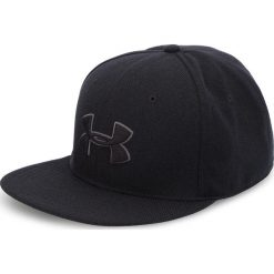 Czapka z daszkiem UNDER ARMOUR - Ua Huddle Snapback 2.0 Cap 1318512-001 Czarny. Czarne czapki z daszkiem męskie marki Under Armour, z haftami, z materiału, sportowe. Za 99,95 zł.