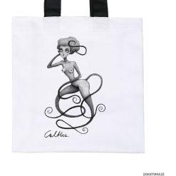 Wężowa- torba premium (kolory). Białe torebki klasyczne damskie Pakamera, z materiału. Za 79,00 zł.