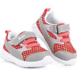 Buty sportowe na gumkę i rzep american American Club odcienie szarości i srebra. Szare buciki niemowlęce American CLUB. Za 89,90 zł.