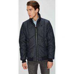 G-Star Raw - Kurtka. Czarne kurtki męskie przejściowe marki G-Star RAW, l, z bawełny, retro. W wyprzedaży za 699,90 zł.
