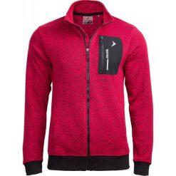 Bluza męska BLM610 - czerwony melanż - Outhorn. Czerwone bejsbolówki męskie Outhorn, m, melanż. W wyprzedaży za 99,99 zł.