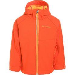 Columbia CASCADE RIDGE Kurtka Softshell state orange/solar. Brązowe kurtki damskie softshell marki Columbia, z materiału. Za 199,00 zł.