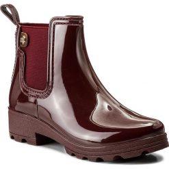 Kalosze GIOSEPPO - 40840 Burgundy. Czerwone buty zimowe damskie marki Gioseppo, z materiału. W wyprzedaży za 159,00 zł.