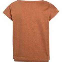 Mainio CHILDRENS  Tshirt z nadrukiem ochre. Brązowe t-shirty damskie Mainio, z nadrukiem, z bawełny. Za 129,00 zł.