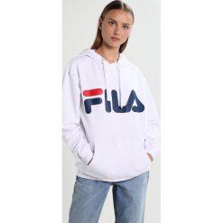 Bluzy damskie: Fila CLASSIC LOGO HOOD KANGAROO Bluza z kapturem bright white